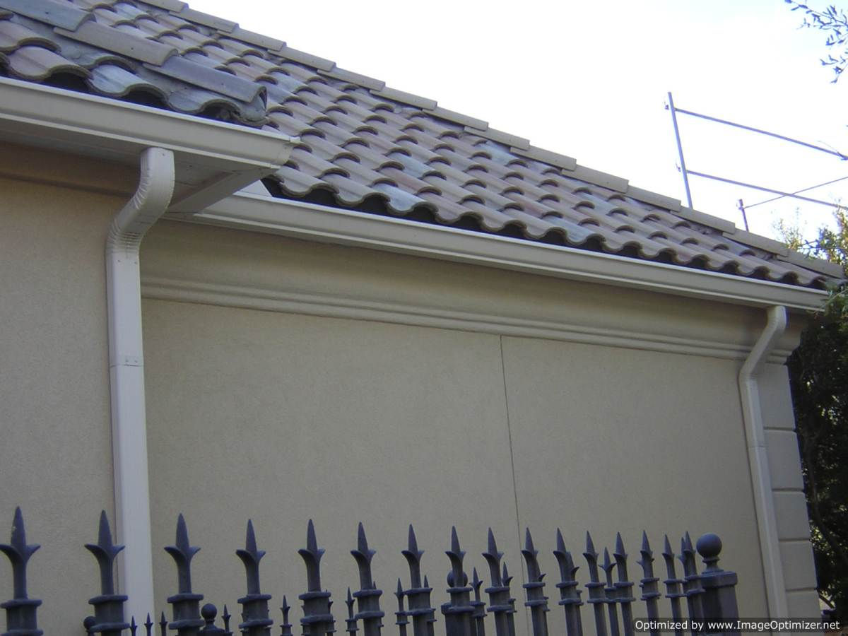 Aluminum Gutters in Coppell